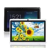 Q88 7 Pulgadas Allwinner A33, Fenghong de 1,5 GHz Quad Core Google Android Tablet PC, 1G + 8G, cámara Dual, WiFi, Bluetooth, Mini USB, G-Sensor, Soporte SD / MMC / TF