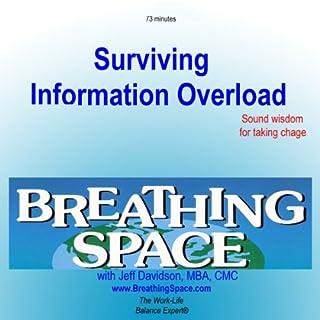 Surviving Information Overload audiobook cover art