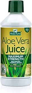 Optima Health Aloe Pura Aloe Vera Juice Maximum Strength