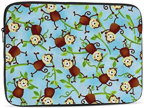 Monkeys Laptop Sleeve Bag - Evecase 15″ Neoprene Universal Sleeve Zipper Sleeve Cover Case for Notebook