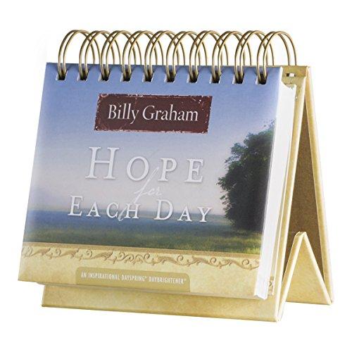DaySpring Calendário Flip - Billy Graham - Hope for Each Day - 77910