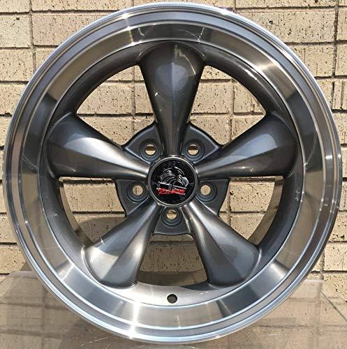 OE Wheels LLC 17 Inch Fits Ford Mustang 1994-2004 Bullitt Style FR01 Anthracite 17x10.5 Rim Hollander 3448
