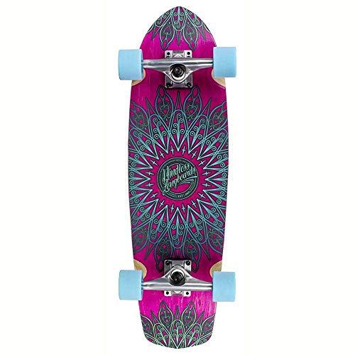 Mindless Longboards Mindless Mandala Skateboard, Unisex - Adulto, ML5700, Rosa (Rosa), Taglia Unica