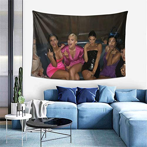 kardashians flipping you off Tapestry Bedroom Livingroom Dormitory Wall Hanging Decoration Tapestries 60*40inch