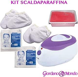 Calentador de parafina (kit completo) para el cuidado