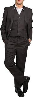 Candygirls H10 Regular Men's Suit 3 Piece Jacket Waistcoat Business Wedding