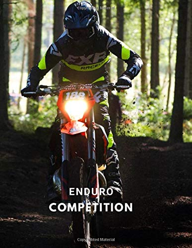 Enduro competition: Lined Journal, Wide Lined, 110 pages