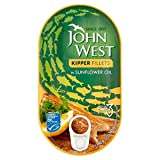John West Kipper Fillets in Oil 160g -
