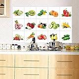 Pegatinas de pared extraíbles a prueba de aceite de cocina Decoración para el hogar, decoración para el hogar ventas, para el día de Halloween (Multicolor)