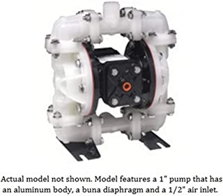 Alemite 125 PSI Air Operated Double Diaphragm Pump 1 in. - 8325