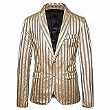 blazer da uomo giacca elegante a righe slim fit casual giacca abito classico moderno giacca nuova moda 2020 da uomo giacca da uomo autunno elegante l