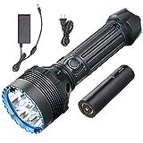 Olight X9R Marauder 25000 Lúmenes Linterna LED Ultrabrillante, Linterna de Alta Potencia,8 Modos, Diseño Ergonómico para Exteriores [Clase de Eficiencia Energética A]