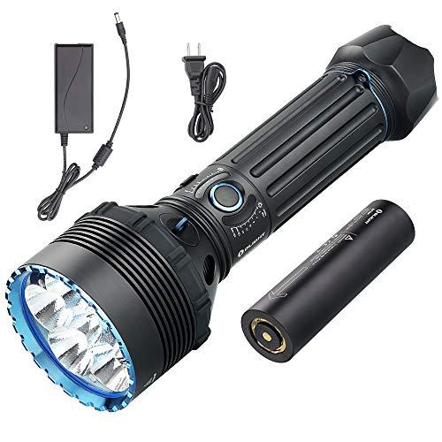 OLIGHT X9R Marauder 25000 Lúmenes Linterna LED Ultrabrillante, Linterna de Alta Potencia,8 Modos, Diseño Ergonómico para Exteriores