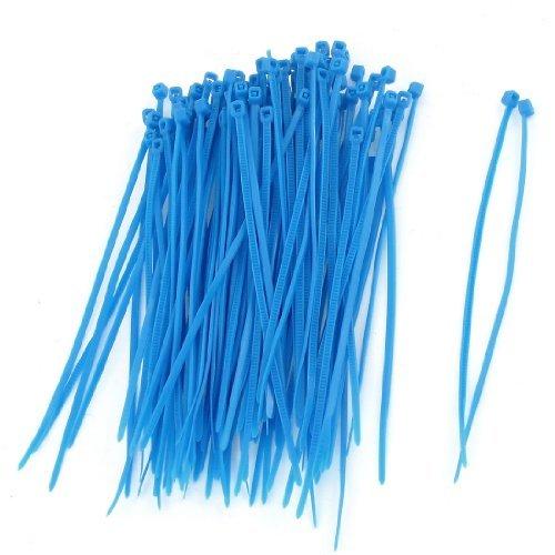 De sujeción de plástico Zip alambre eléctrico de uniones de cable 100...