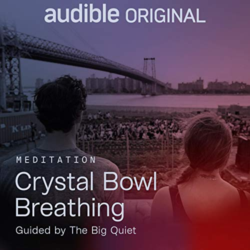 Crystal Bowl Breathing audiobook cover art