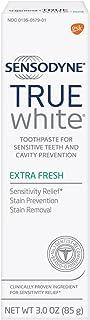 Sensodyne Sensitive Teeth Whitening, True White Extra Fresh, Sensitivity Toothpaste, 3 ounce