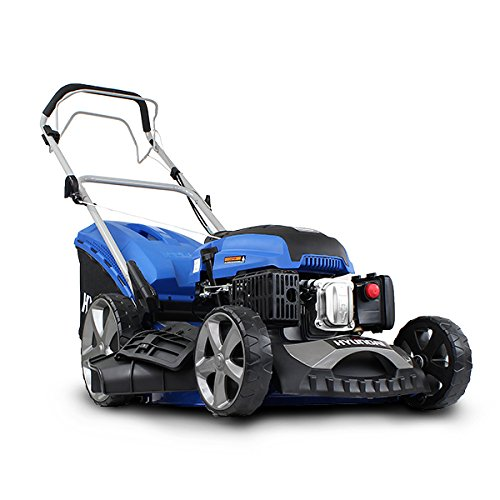 Hyundai HYM510SP 4-Stroke Petrol Lawn Mower 173CC Self Propelled 51cm/20 inch Cutting Width