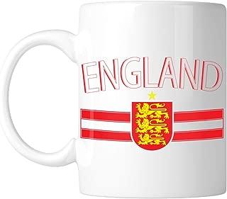 Amdesco England 11 Oz White Coffee Mug (1 Mug)