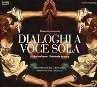 Various:Dialoghi a Voce Sola