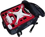 Rucksack / Transportrucksack von MC CASES passend für DJI Phantom 3 Professional & Advanced (Grün Grau)