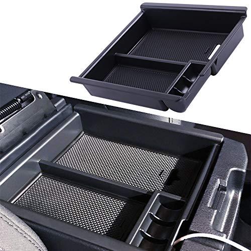 JOJOMARK for 2019 2020 Ranger Accessories Center Console Organizer Tray Armrest Box Secondary Storage