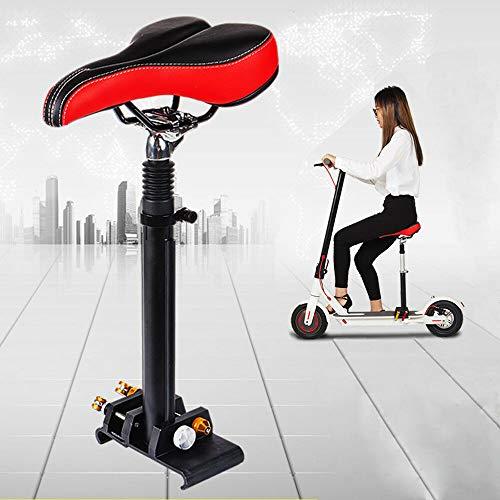 Elektrischer Skateboard-Sattel, Schwarz Faltbarer stoßdämpfender Sitz für Xiaomi M365 Stoßdämpfender Stuhl Sitz E-Scooter Zubehör 40-60cm