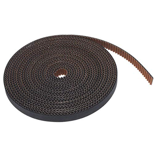 VXYUSF Practical Fiberglass Timing Belt For Ender 3 CR10 GT2 PU With Steel Core GT2 Timing Belt 2GT Open Time Count