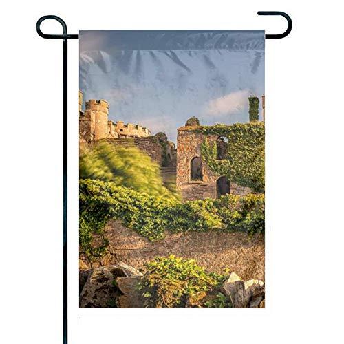 12,5 x 18 Zoll dekorativ, Hausflagge. Clifden Castle