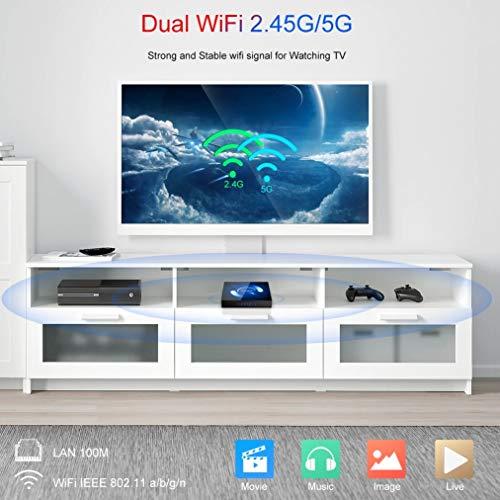 H96 Pro Plus Android 7.1 TV Box [3GB/32GB/4K] Amlogic S912 Octa-core 64 Bits CPU Dual WiFi 2.4 Bluetooth 4.1 H.265 con Mini Teclado Inalámbrico Smart TV Box