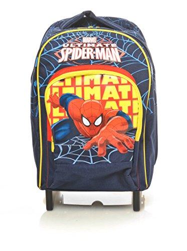 Spiderman - Trolley Scuola, Spallacci a Scomparsa, 30 Litri