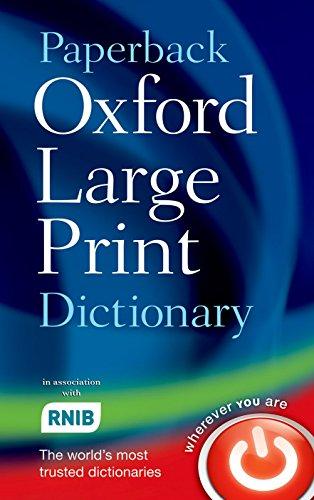 Paperback Oxford Large Print D