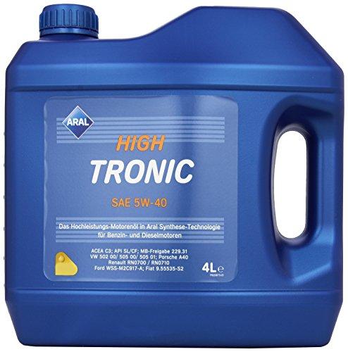 ARAL HighTronics 5W-40 Motorenöl, 4 Liter