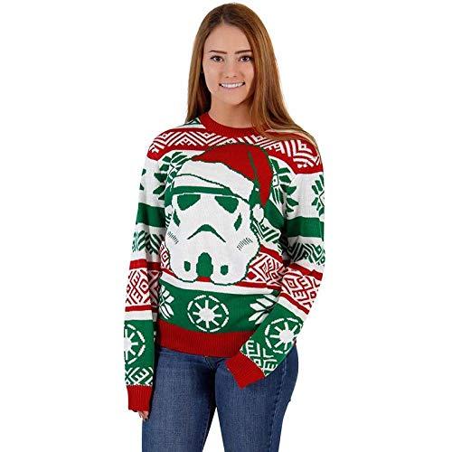 RTOUY Mujeres Hombres Suéter De Navidad, Otoño Invierno Cálido, Jerseys De Punto...