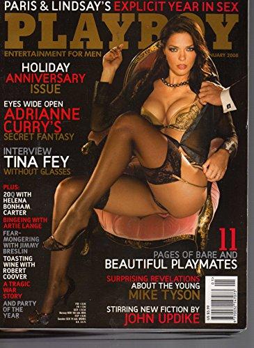Playboy Magazine, January 2008 Adrianne