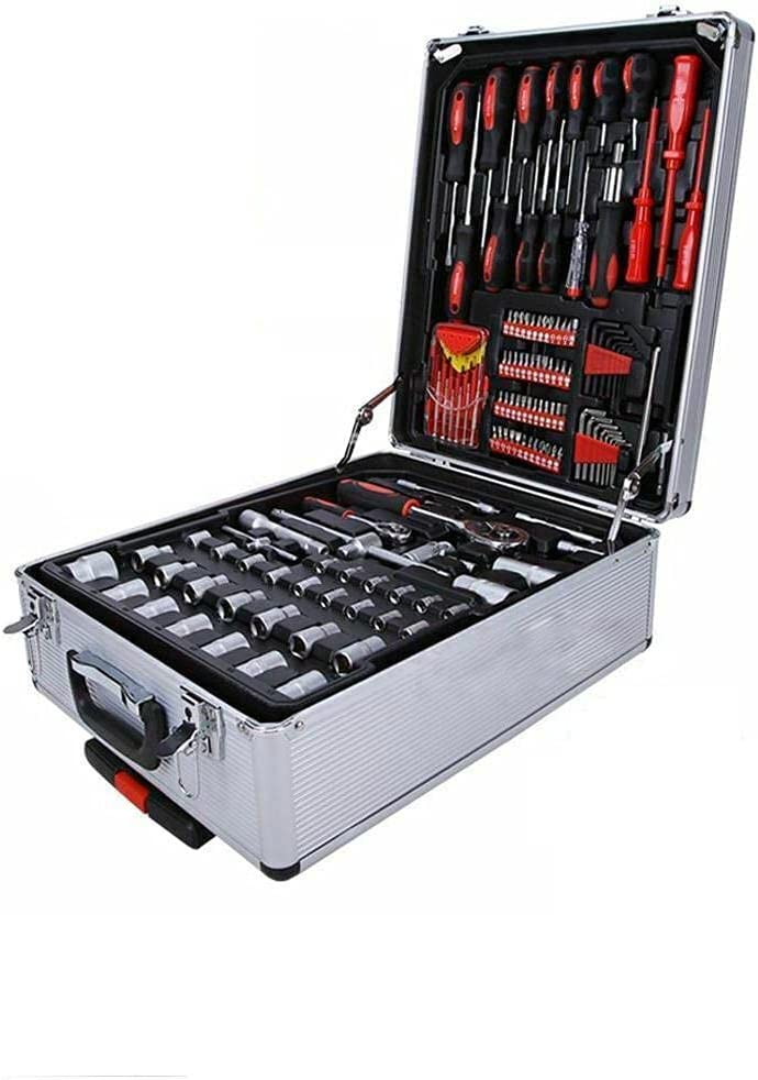 sold out 799 PCS Tool Set Mechanics Kit Ca Socket Trolley Super sale w Wrenches