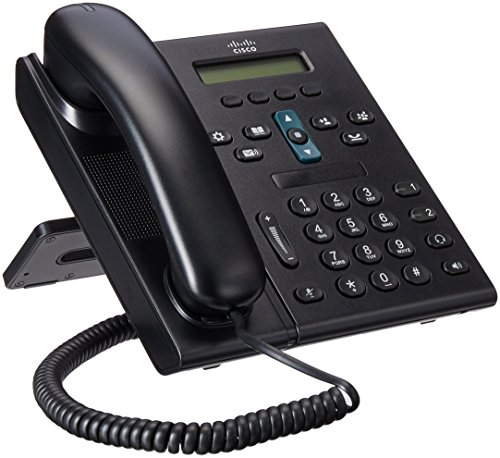Cisco CP 6921  2-Line Office VoIP Phone (CP-6921-C-K9) (Renewed)