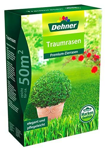 Dehner Rasen-Saatgut Traumrasen, Premium-Zierrasen, 1,25 kg, für ca. 50 qm