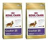 2 x 12 kg Royal Canin Cocker 25 Dry Adulto comida para perro