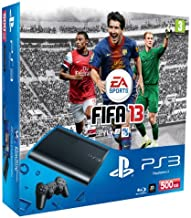 PlayStation 3 - Console PS3 500 GB [Chassis M] con FIFA 13 [Bundle]