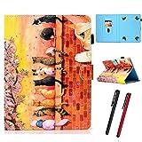 Hious Universal Hülle für 7 Zoll Tablet mit Kartenfächer