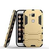 YHcase Cover Huawei G8, Custodia Huawei G8 / GX8, 2 in 1 Nuova Armour Stile Duro Hybrid Dual Layer...