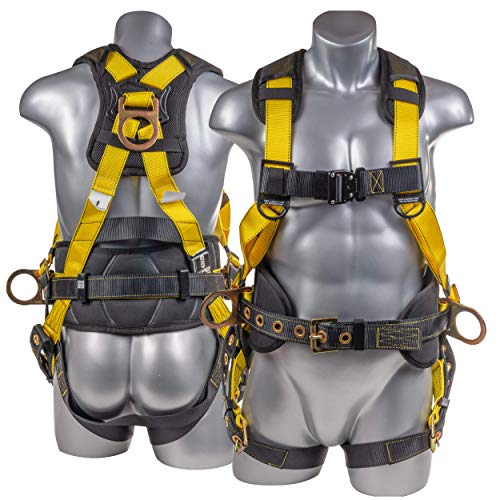 Palmer Safety Fall Protection Full Body 5-point Harness