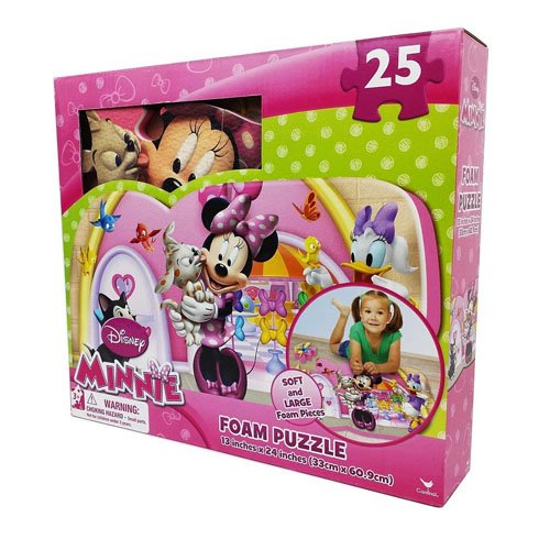 Disney Minnie 25-piece Floor Foam Puzzle Mat