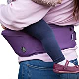 Hippychick - Hipseat - Asiento portabebés - Sencillo y ergonómico - Morado