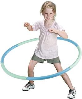VENSEEN Hula Hoop for Kids, Detachable Adjustable Weight Size Plastic Kid Hoola Hoop, Suitable as Toy Gifts, Hula Hoop Game, Indoor & Outdoor Games, Boys & Girls
