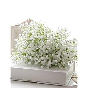 Silk Flower Arrangements HUAHUA Artificial Flowers, Fashion Bouquets,Plastic/PU Baby Breath Artificial Flowers