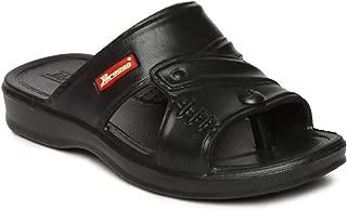 PARAGON Boy's Black Slippers-2 Kids UK (34.5 EU) (A1EV1190BBLK00002G105)