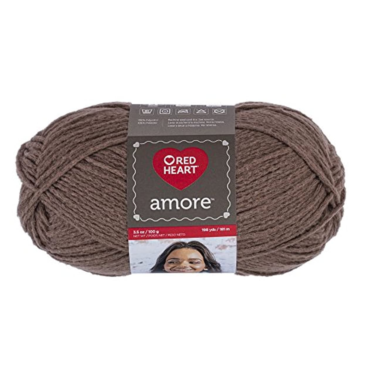 Red Heart Amore, Latte Yarn,