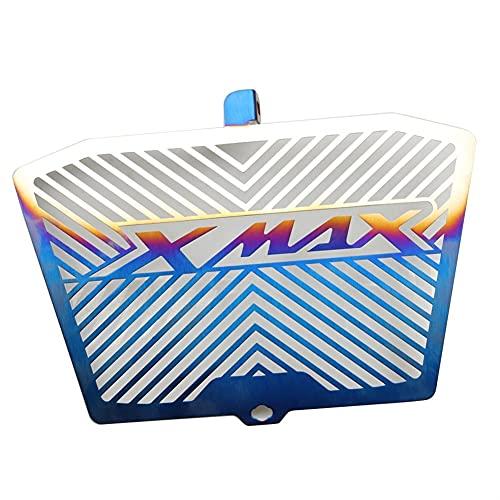 QWERASD Rejilla radiador Protector Cubierta para Ya-maha Xmax Xmax300 XMAX250 Modified Steel Tank Tank Funda Protectora De La Red del Radiador (Color : 2)