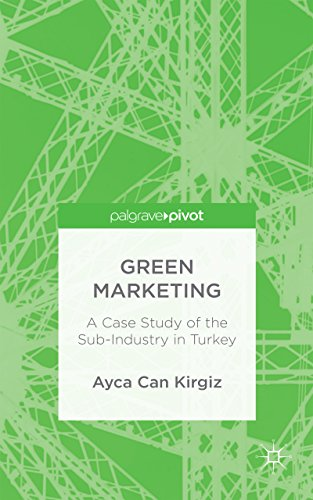 Green Marketing: A Case Study of the Sub-Industry in Turkey (English Edition)